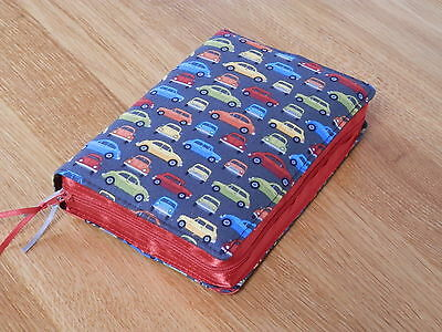 New World Translation 2013 Zipped Fabric Bible Cover - Cars