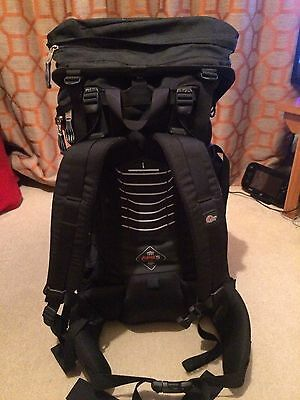 Lowe Alpine Frontier Black And Red Rucksack Hiking Backpack