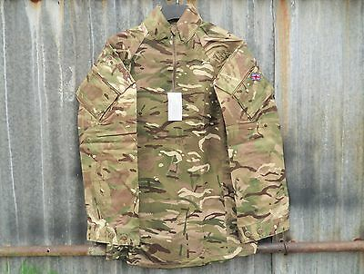 New Pattern British Army Issue Mtp Camo Ep Ubacs Combat Shirt 180/100 Large