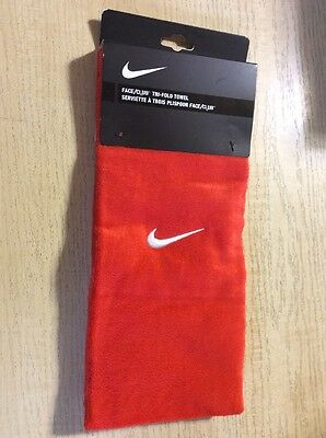 "Nike Tri-fold Golf Towel Orange 16"" X 24"""