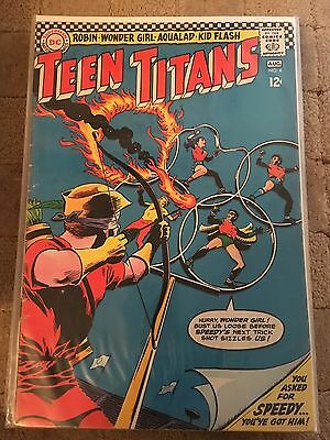 Teen Titans No 4 Aug 1966 VG DC COMICS First Silver Age Series. Issue Four.