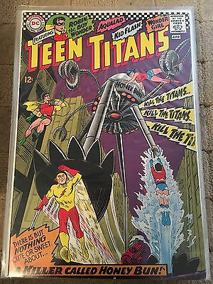 Teen Titans No 8 Apr 1967 Fine DC COMICS First Silver Age Series. Issue Eight
