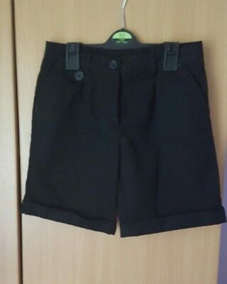 next girls school shorts bundle aged 8