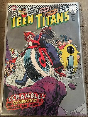 Teen Titans No 10 Aug 1967 Fine DC COMICS First Silver Age Series. Issue Ten
