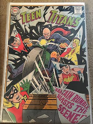 Teen Titans No 15 June 1968 Fine DC COMICS First Silver Age Series Issue Fifteen