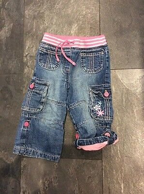 Baby Girls George Jeans Age 12-18 Months