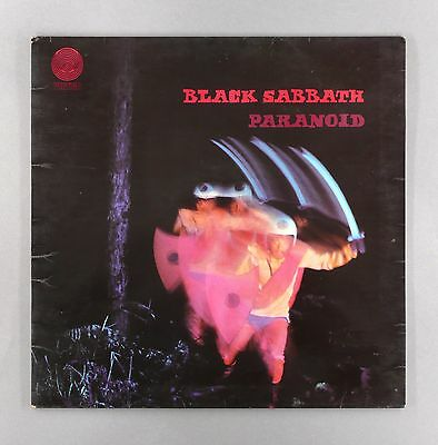 "Black Sabbath - Paranoid -  1Y//2 2Y//2 UK 12"" Vinyl LP - 6360 011"