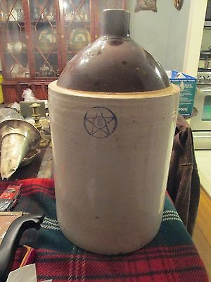 Antique Vintage Very Large 5 Gallon  Stoneware Jug
