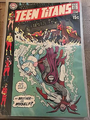 Teen Titans No 29 Oct 1970 F/VF. DC COMICS First Series. Bronze Age Issue.