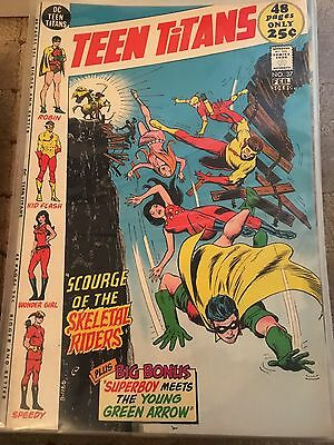 Teen Titans No 37 Feb 1972 F/VF. DC COMICS First Series. Bronze Age Issue.