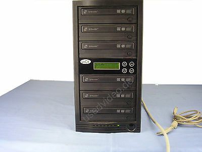 LaCie Dopli Disc DVD125 USB, Multiple DVD/CD Duplication Station