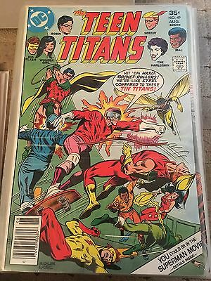 Teen Titans No 49 Aug 1977 F/VF. DC COMICS First Series. Bronze Age Issue.