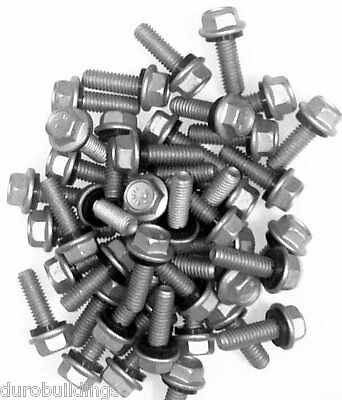 "Duro Steel Building 1000 Count 5/16"" x 1"" New Arch Grain Bin Bolts,Nuts,&Washers"
