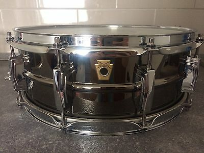 "Ludwig Black Beauty 14 x 5"" Snare Drum"