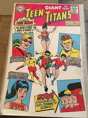 Teen Titans. Giant 80 Page Annual NM. DC COMICS First Series.