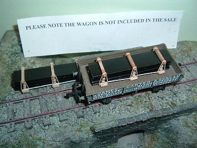 OO/O scale wagon or lorry load ( Steel Plate Load ) x 2