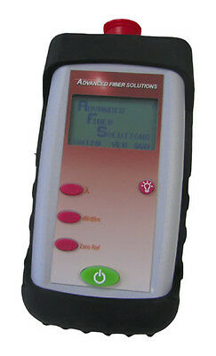 AF-OM130 - Advanced Fiber Solutions Optical Power Meter with Accessories **NEW**