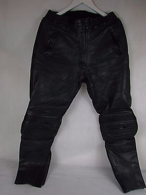 Richa Leather Motorcycle Trousers Size 34   ##bux62Jt