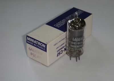 NEW tube 6AU6 WB Thomson csf France Valve X8 ITEMs in one auction