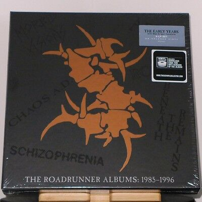 Sepultura - The Roadrunner Albums: 1985-1996 / 6er-LP (081227944001) ltd col box