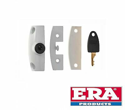 Era Window Snaplock With One Key - White Finish - New