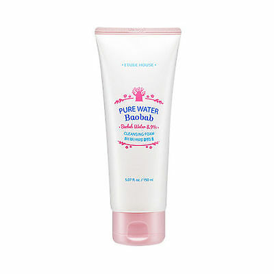[ETUDE HOUSE] Pure Water Baobab Cleansing Foam - 150mL