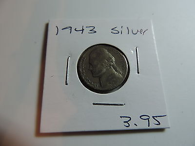 1943 US American Nickel coin A525
