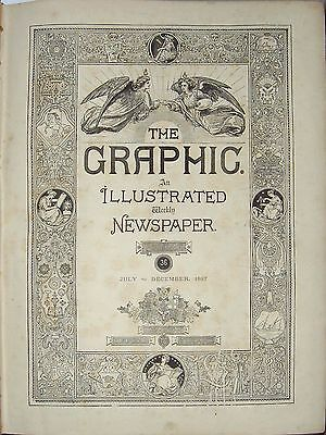 The Graphic Illustrated Weekly Newspaper – Vol. 36 Luglio Dicembre 1887