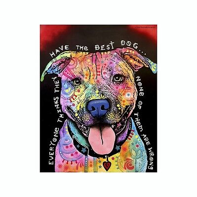 Pit Bull Everyone Thinks They Have The Dean Russo Vinyl Dog Car Decal Sticker