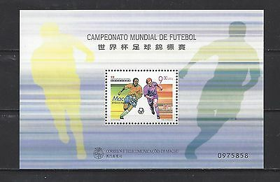 Macao - 937 - Mnh - S/s  - 1998 -  World Cup Soccer Championship - France