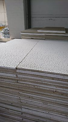 50 Suspended ceiling tiles 600x1200mm