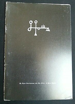 The self immolation rite - Ixaxaar Order of Nine Angles / R. Anschauung rare LHP