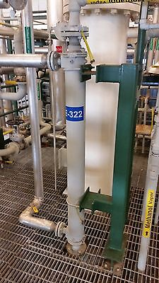 API Basco Shell & Tube Heat Exchanger, 316 Stainless Steel, 41 ft²