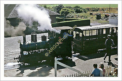 ra 008 STEAM Talyllyn Railway Barclay loco locomotive Douglas engine 1971 photo