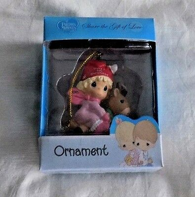 Precious Moments Baby's First Christmas Girl  2016 Ornament