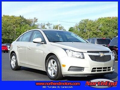 2013 Chevrolet Cruze LT Sedan 4-Door 2013 Sedan Used 6-Speed Automatic Electronic with Overdrive FWD Silver