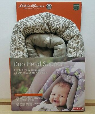 Eddie Bauer Duo Head Support for Car Seats Infants and Beyond
