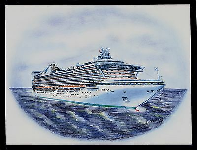 Original Art Work...m/s STAR PRINCESS ...cruise ship...Princess