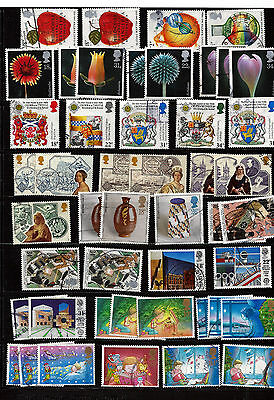 GB 1987 used commemoratives as scan. (ref 1987b)