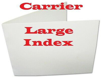 5- Carriers For Laminating Pouches/Sheets  CARD SIZE  4-3/4 x 6-5/8