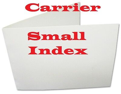 5- Carriers Sleeves Sheets For Laminating Pouches  CARD SIZE 3-3/8 x 5-1/2