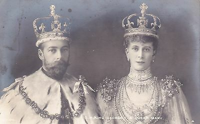 King George V & Queen Mary X2 Rp Rotary Photo