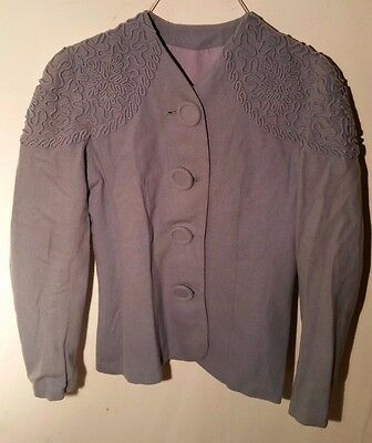 Vintage 1940s Women's Blazer Jacket - Swing Era
