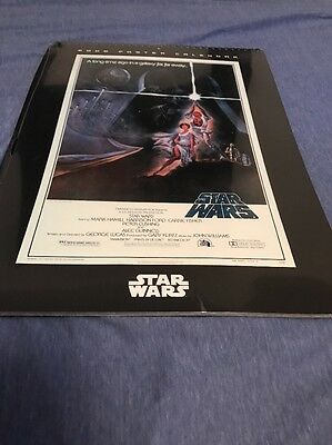 Star Wars Movie Posters 2006 18 Month Wall Calendar