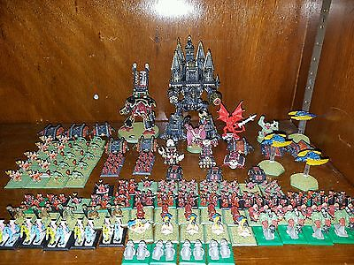 Epic 40k chaos army incl banelord and empirator titans may seperate