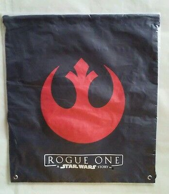 """Promotional Rogue One: A Star Wars Story Draw String Bag 14""""x16""""  New & Sealed"""