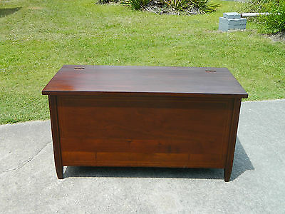 Mid Century Mahogany Blanket Chest