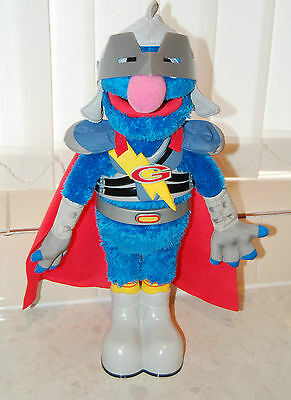Super Grover Sesame Street Talking Electronic Toy