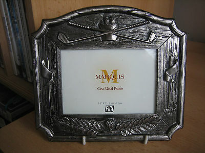 Golf Theme Cast Metal Photo Frame