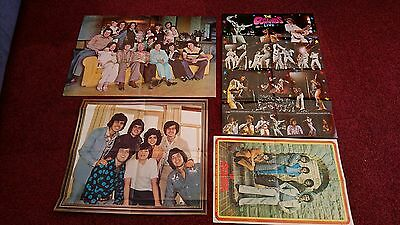Job Lot Of 4 Super Rare Osmonds Posters. Donny Osmond, Marie & Family